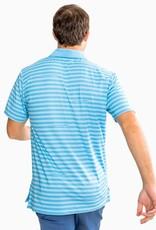 Southern Tide Gator Stripe Performance Polo Shirt