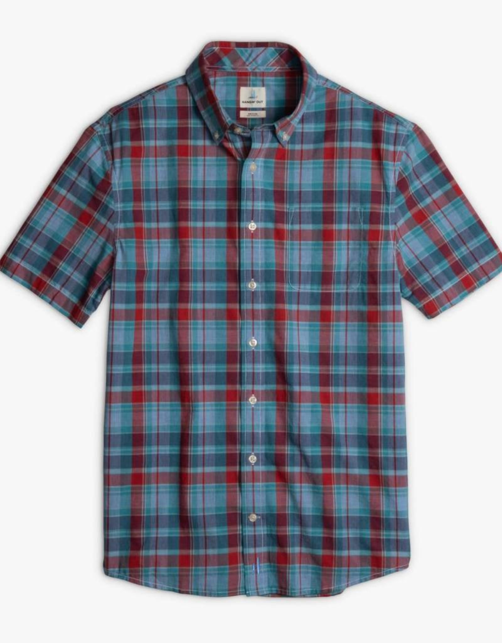 Johnnie-O Alva Hangin' Out Short Sleeve Button Down Shirt