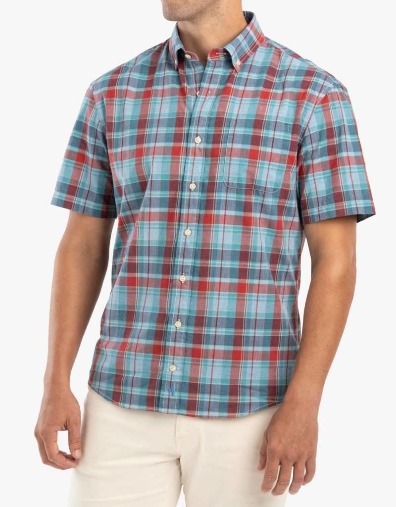 Johnnie-O Alva Hangin' Out Short Sleeve Button Down Shirt
