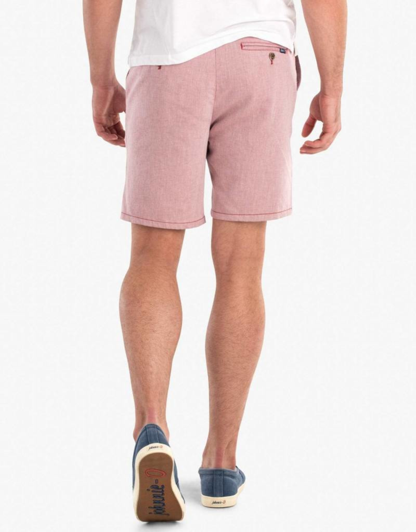 Johnnie-O Slater Double Faced Cotton Linen Shorts