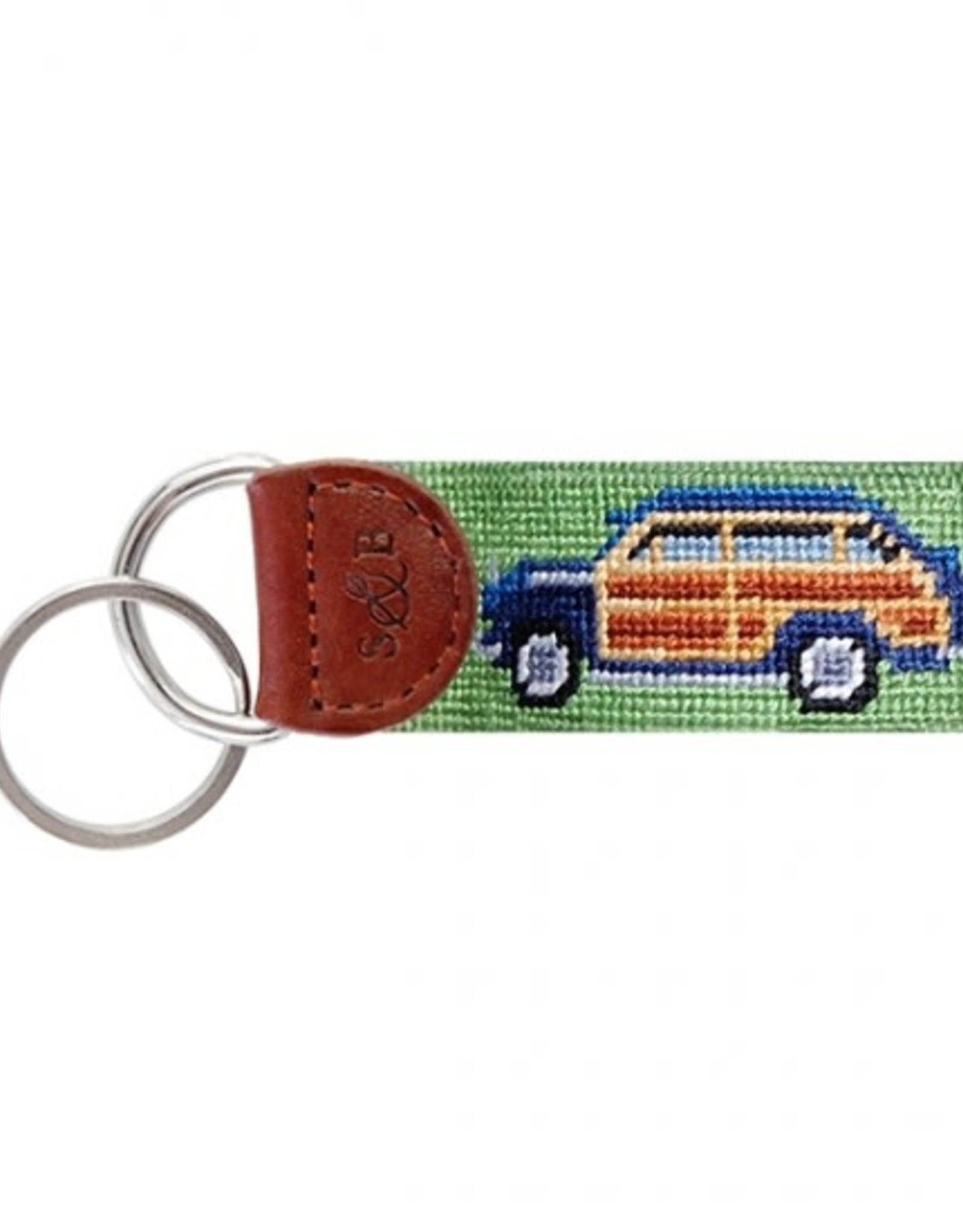 Smathers & Branson Woody Needlepoint Key Fob