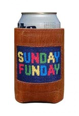 Smathers & Branson Sunday Funday Needlepoint Can Cooler