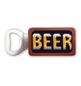 Smathers & Branson Beer Needlepoint Bottle Opener