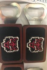 Smathers & Branson Arkansas State Needlepoint Bottle Opener