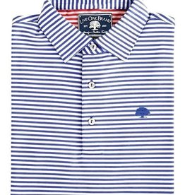 Thick Stripe Perf Polo