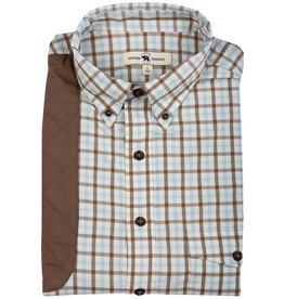 Onward Reserve Sky Plaid Perf Shooting Shirt