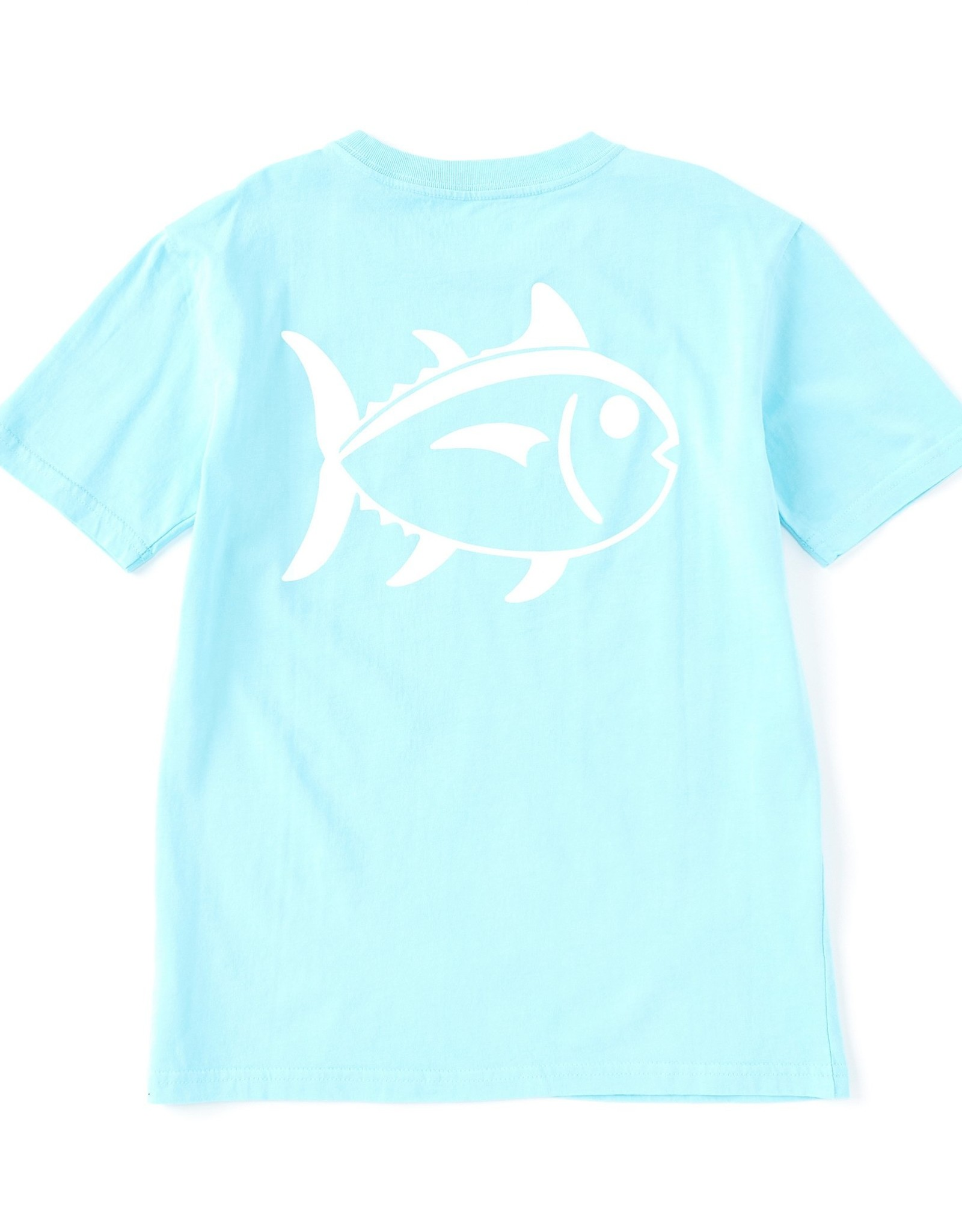 Southern Tide Youth Outline Skipjack Tee