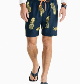 Southern Tide Pineapple Swim Trunk