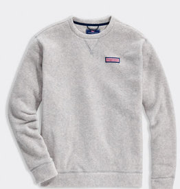 Vineyard Vines Harbor fleece crew