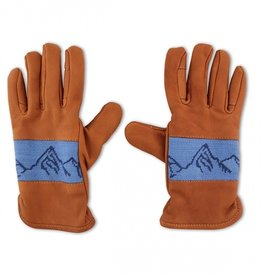 Smathers & Branson Mountain Peaks Leather Gloves