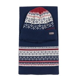 Barbour Fairisle Beanie and Scarf