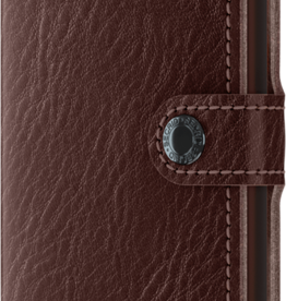 Miniwallet Veg Espresso Brown Mini
