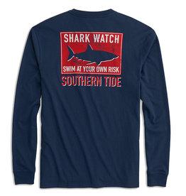 Southern Tide Shark Flag T LS