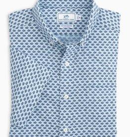 Southern Tide IC SJ Dot Sport Shirt