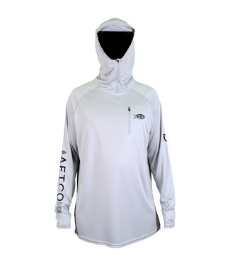 Aftco AFTCO Jason Christie Performance Fishing Hoodie (Gray)