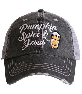 Katydid Pumpkin Spice And Jesus Hat