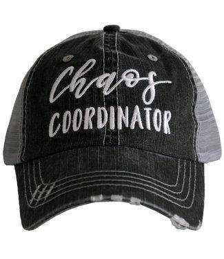 Katydid Chaos Coordinator Trucker Hat Gray