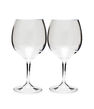 GSI GSI Nesting Red Wine Glass Set