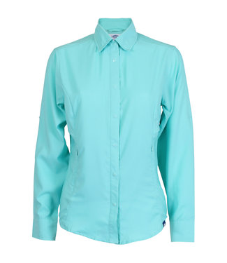Aftco Aftco Women's Wrangle Long Sleeve Fishing Shirt (Mint)