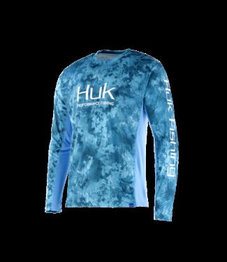 Huk Huk Icon Camo LS