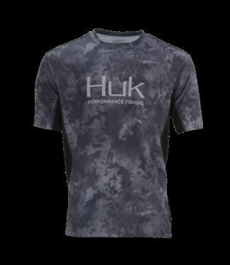 Huk Huk Icon Camo SS Black Camo