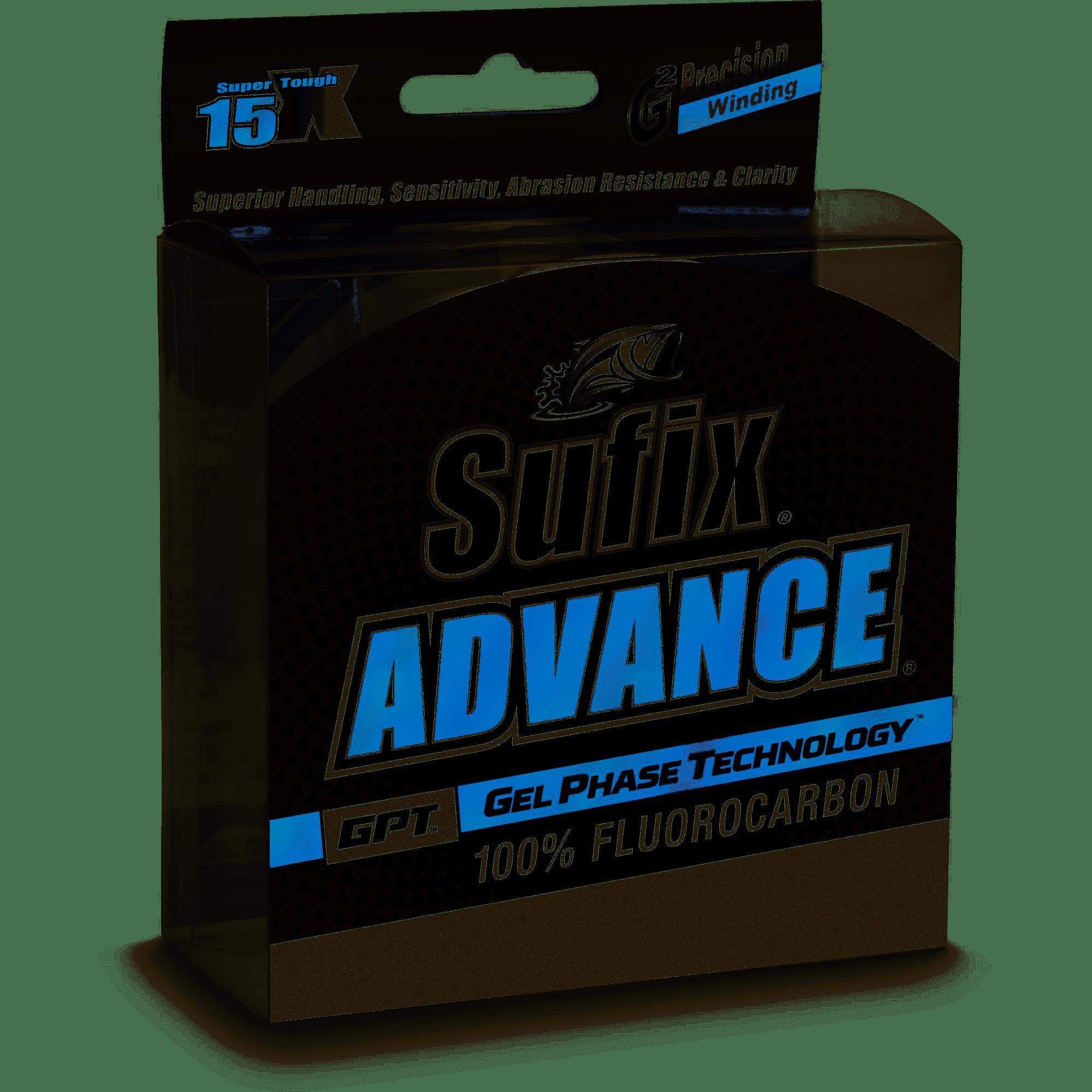 Clear Sufix Advance Fluorocarbon 30 lb 200 yd