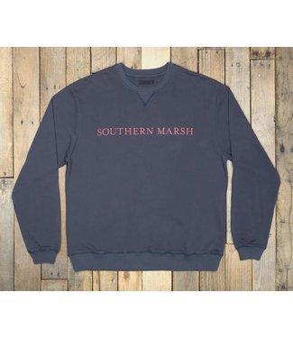 Southern Marsh YTH Southern Marsh Seawash Sweatshirt Navy