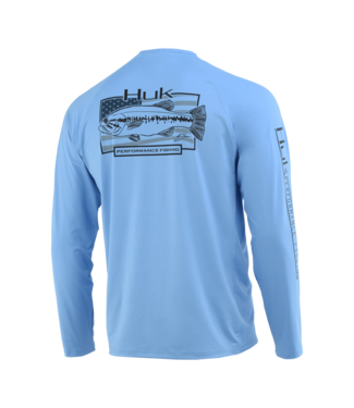 Huk Huk American Large LS Carolina Blue 420