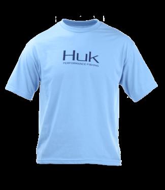 Huk Youth Huk Performance Fishing T-Shirt (Light Blue)