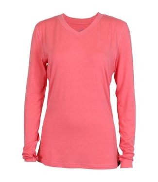 Aftco Aftco Orbit Performance LS Tee Coral