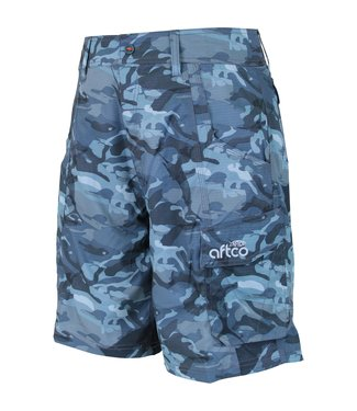 Aftco Aftco Tactical Fishing Shorts Blue Camo