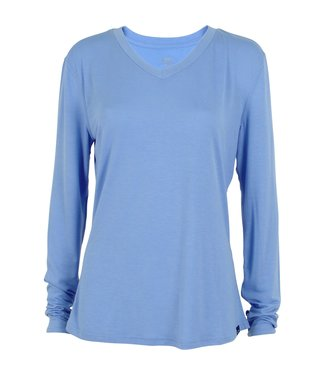 Aftco Aftco Women's Orbit LS Shirt Azure