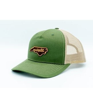 Rock Outdoors Rock Outdoors NC Leather Patch Hat (11 Colors)