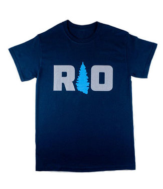 Rock Outdoors Rock Outdoors Navy/Gray/Blue SS Shirt