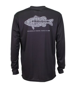 Aftco Aftco Rough Metal Long Sleeve T-Shirt (Black)