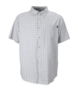 Aftco Aftco Dorsal Short Sleeve Fishing Shirt (Heather Gray)