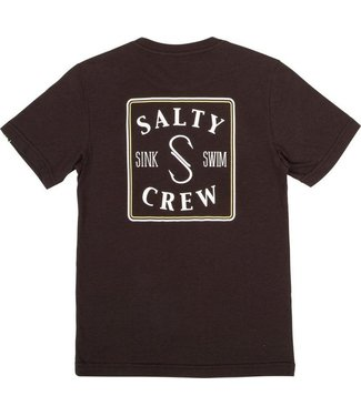 Salty Crew Salty Crew Youth Squared Up SS T-Shirt (Black)