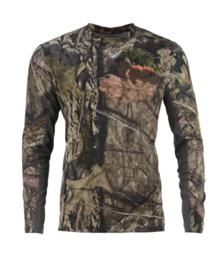 Nomad Nomad Men LS Cooling Tee Mossy Oak
