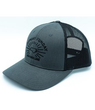 Rock Outdoors Rock Outdoors Sunday Funday Low Profile Trucker Hat Charcoal/Black