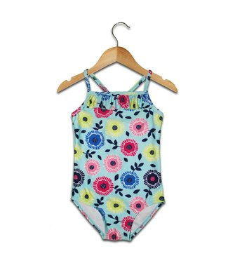 Mary Elyse Floral One Piece