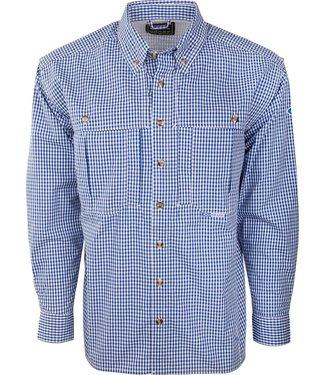 Drake Drake LS Gingham Plaid Wingshooter's Shirt (2 Colors)