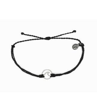 Puravida Pura Vida Silver Wave Bracelet (2 colors)