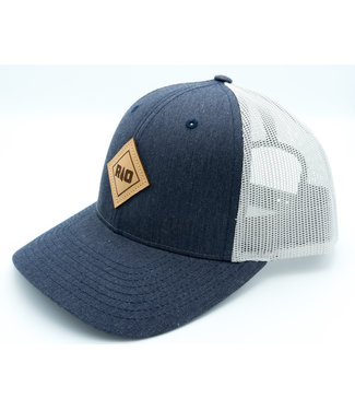 Rock Outdoors Rock Outdoors Double Diamond RO Leather Patch Low Profile Trucker Hat