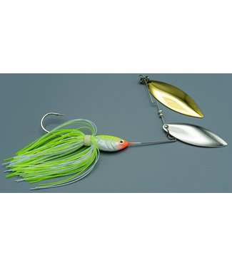 Dave's Tournament Tackle Dave's Tiger Shad 1/2oz Chartruce/White NGZ
