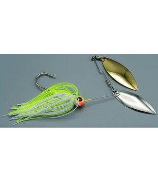 Dave's Tournament Tackle Dave's Blade Roller 1/2oz Chartruce/White TS6 NGZ