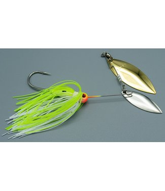 Dave's Tournament Tackle Dave's Blade Roller 3/8 oz Chartruce/White NGZ