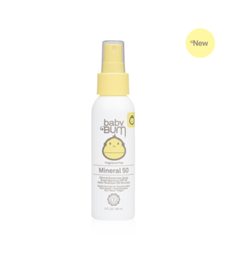 Sun Bum Baby Bum Mineral SPF 50  Sunscreen Spray - 3oz