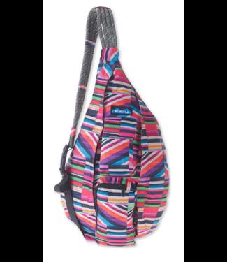 Kavu Kavu Rope Sling Bag - Jewel Stripe
