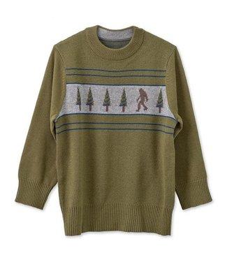 Kavu Kavu Fun Jump Youth Sweater - Sasquatch