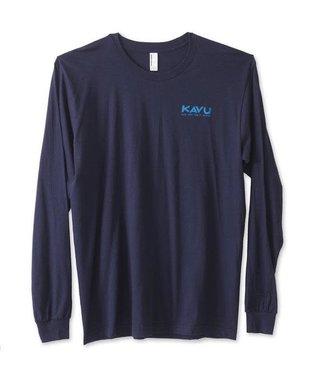 Kavu Kavu Klear Above Men's Long Sleeve Tee - Navy